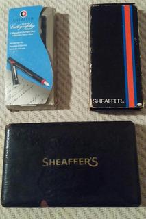 Sheaffer Sets De Plumas, Y Plumas Fuente Vintage
