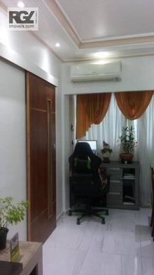 Apartamento Com 1 Dormitório À Venda, 55 M² Por R$ 270.000 - Aparecida - Santos/sp - Ap5149