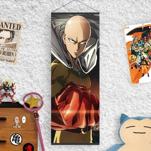 Imagen 1 de 2 de Lona De One Punch Man - Saitama - Animeras
