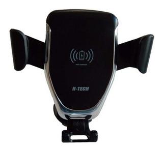 Suporte De Celular Carregador Wireless Indução 12v - H-tech