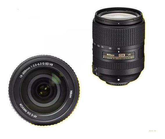 Lente Nikon Af-s Dx Nikkor 18-300mm F/3.5-6.3g Ed Vr