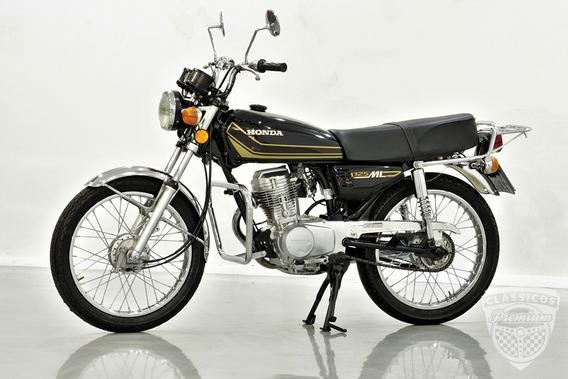 Honda Ml 125 1981 81 - Original - Antiga - Bolinha - Preta