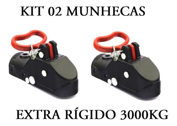 Kit 02 Munheca 3000kg Engate Carretinha Reboque Promoção