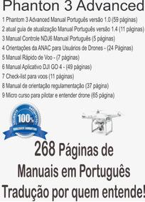 Manual Em Português- Phantom 3 Advanced.imediato @via E-mail