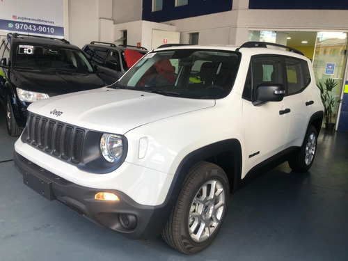 Jeep Renegade Sport 2021 0km / Pronta Entrega Tod. As Cores