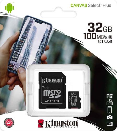 Memoria Micro Sd Kingston Externa 32gb Clase 10  - Otec