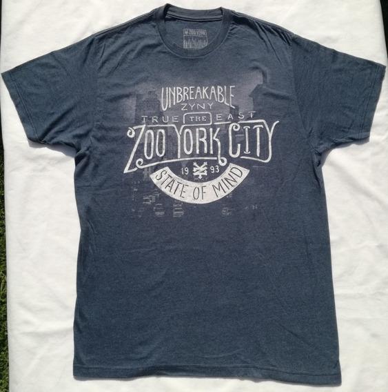 Remera Zoo York Azul Talle L