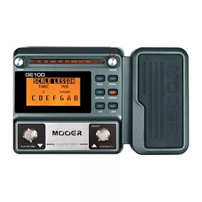 Pedaleira Mooer Ge-100 Multi-efeitos P/ Guitarra