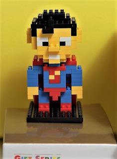 10 Super Héroes En Mini Blocks