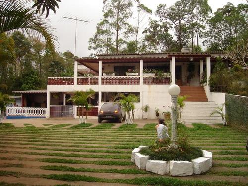 Chácara Com 4 Dormitórios À Venda, 3000 M² Por R$ 850.000 - Chácara Estância Paulista - Suzano/sp - Ch0015
