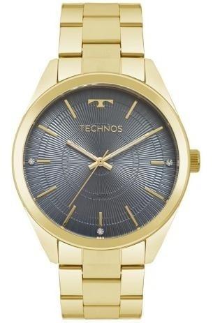 Relógio Technos Dourado Feminino 2036mkb/4a Elegance Dress