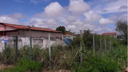 Excelente Terreno Em Emaús, Com 300m² - Parnamirim/rn - Te0058
