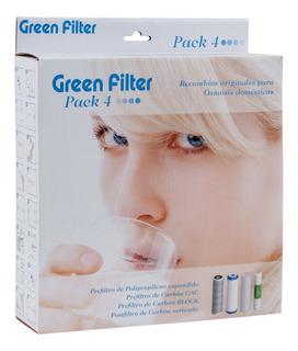 Filtro De Repuesto Para Osmosis Inversa X 4 Pp,cto,gac,remi