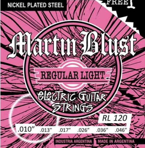 Encordado Guitarra Eléctrica Martin Blust .010 Leomusic