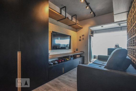 Apartamento Para Aluguel - Brooklin, 1 Quarto, 33 - 893075657