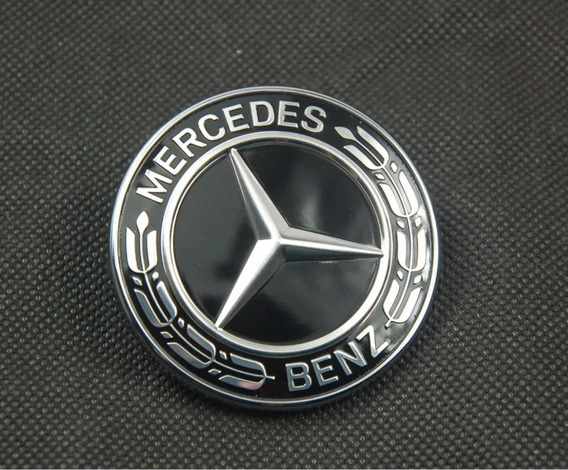 Mercedes-Benz A e insignia de la estrella de cromo rejilla frontal y base GLK Cla ML GLA C CLS B
