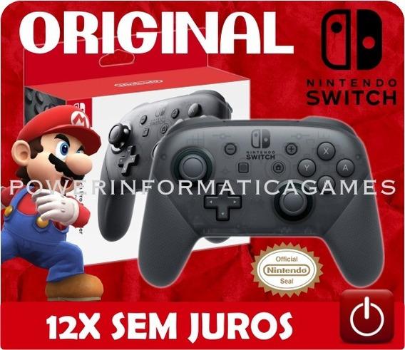 Controle Nintendo Switch Pro Controller Original Lacrado