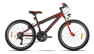 Bicicleta Aurora 24 Asx Mtb R24 Aluminio 18v 9 A 14 Años