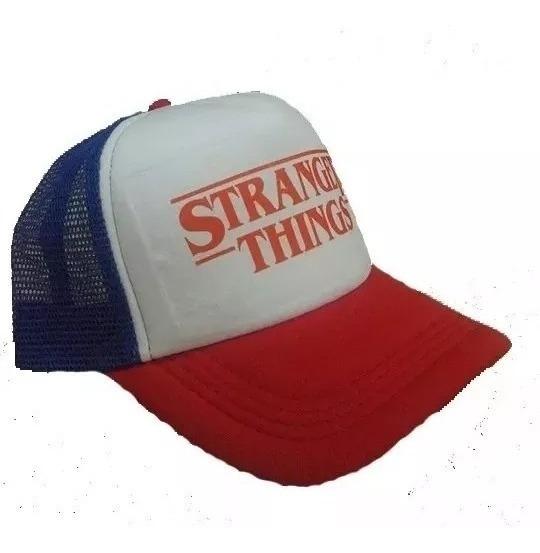 Gorra Trucker Stranger Things Tv Serie Netflix Belgrano