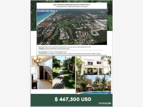 Casa En Venta En Playa Del Carmen - Playacar Ii