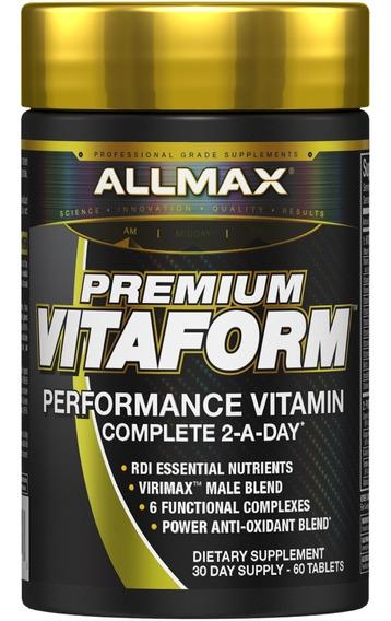 Allmax Vitaform 60 Tabletas Vitaminas Minerales Antioxidante
