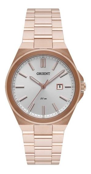 Relógio Orient Feminino Frss1035 S1rx Rose Gold Lançamento