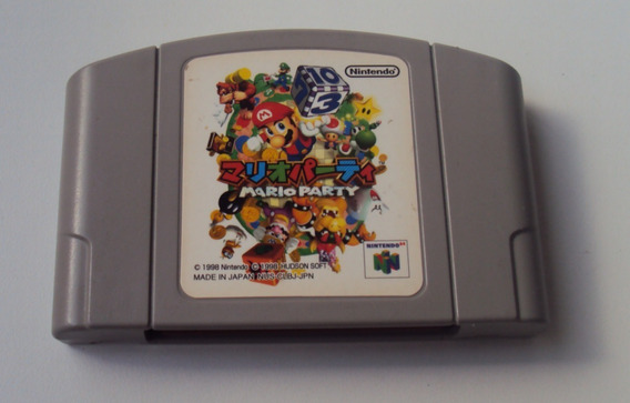 Mario Party Orginal Japonês Para Nintendo 64