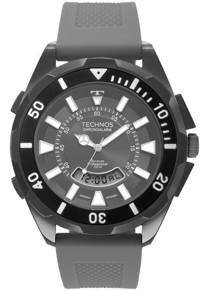 Relógio Technos Masculino Skydiver Grafite T205jo/8c