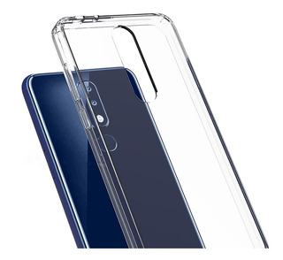 Funda Reforzada Premium Acrílico Tpu Nokia 5.1 Plus