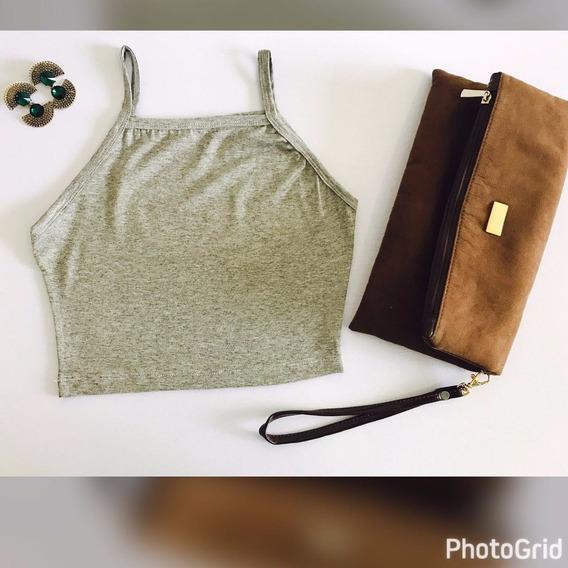 Cropped Tirinha, Alcinha Moda Blogueiras