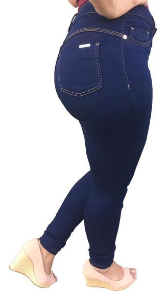 Calça Feminina Jeans Lycra Hotpants Skinny Slim Frete Gratis
