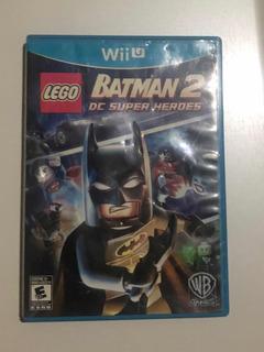 Lego Batman 2 Nintendo Wii U Portada Desgastada