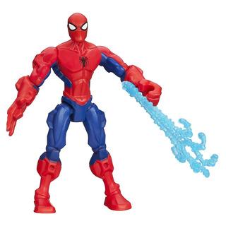 Marvel Super Hero Mashers Spider Man Figura 6 Pulgadas