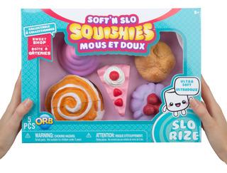 Set De 5 Juguetes De Pastelería Soft