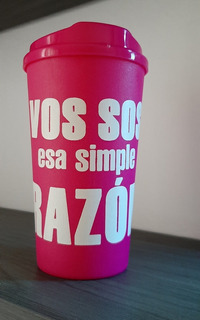 Vaso Café Americano, Fucsia, Razón