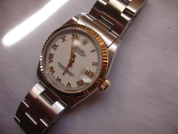 Rolex Date Just 31mm - Safira Automático