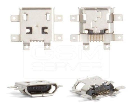5 Conector Usb Jack Carga Power Tablet Navcity Dl Every V8