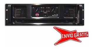 Ftm Amplificador Potencia Sts Sx 4.8 - 2 X 2400 Watts A 2 Oh
