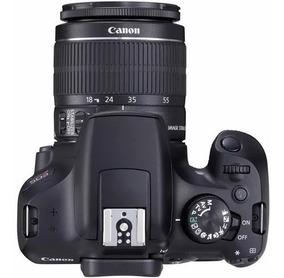Câmera Digital Canon Kit Eos Rebel T6 Dslr18 Mp 3 Gravação