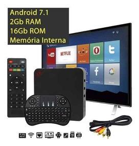 Aparelho Transformar Tv Em Smart Android+teclado Smart+rca