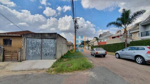 Excelente Terreno De Esquina No Capão Raso 368 M², Curitiba - Te0091