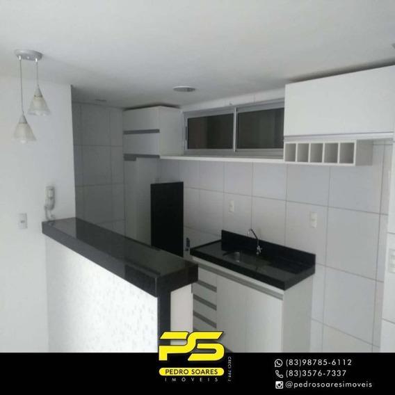 Apartamento Com 3 Dormitórios Para Alugar, 71 M² Por R$ 1.500/mês - Intermares - Cabedelo/pb - Ap3246