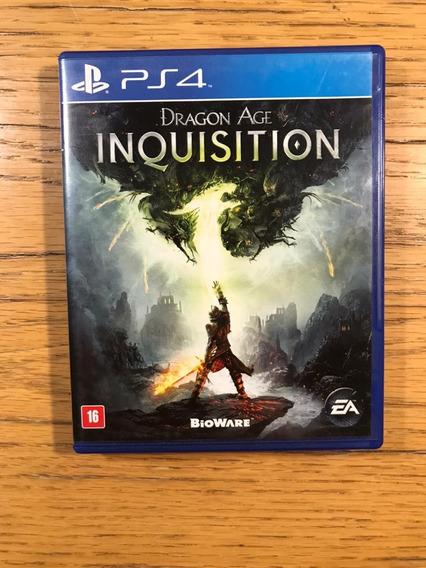 Jogo Ps4 - Dragon Age Inquisition (mídia Física)
