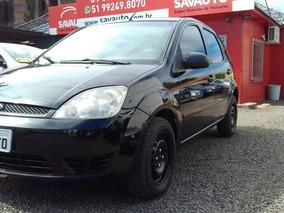 Ford Fiesta Personnalité 1.0 8v 66cv 5p 2005 Preta