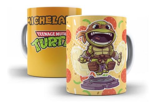 Imagem 1 de 6 de Canecas Personalizadas  Tartarugas Ninjas  !!!!