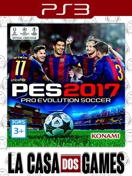Pro Evolution Soccer 2017 - Pes 17 - Psn Ps3 - Português
