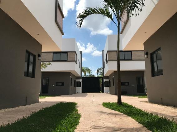 Casa Nueva Amueblada En Residencial Con Porton Y Seguridad