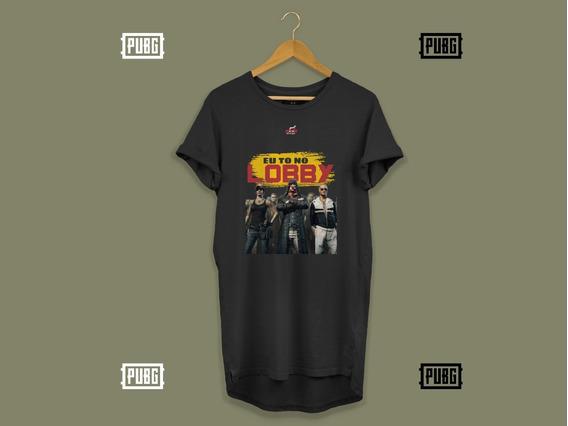 Kit C/3 Camisa Pubg Blusa Masculina Longline Oversize Swag