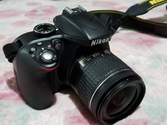 Câmera Nikon D3300 + Lente 18-55mm + Acessórios 4000 Clicks!