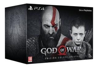 God Of War 4 Ps4 Edición De Coleccionista
